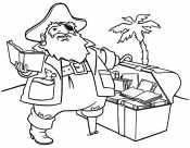 Пират с сокравищами