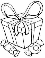 Новогодние подарки и конфеты