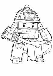 Пожарник Рой