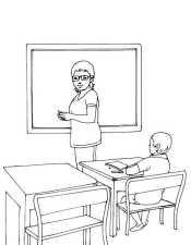 Рисунок Школа