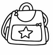 Раскраски сумка