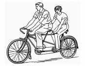 Рисунок велосипед