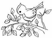 Птичка для девочек