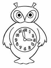 Часы-совушка