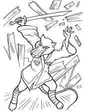 Сплинтер в бою