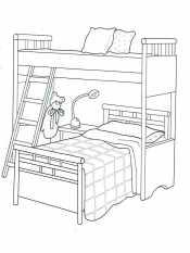 Картинка Кровать