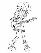 Эпплджек с гитарой