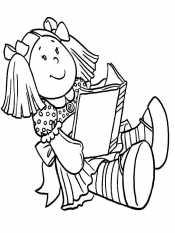 Кукла в книге