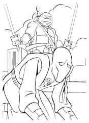 Леонардо с врагом