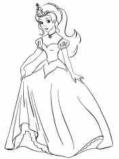 Принцесса с короной