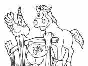 Рисунок Домашние животные