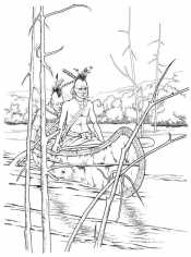 Рисунок Индейцы
