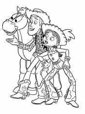 Джесси, Вуди и Булзай