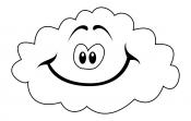 Облако с улыбкой