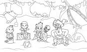 Джейк и друзья на острове