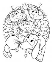 Спиралька и пришельцы