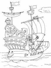 Картинка Пиратский корабль