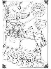 Щелкунчик на паровозе