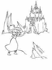 Герда и замок Снежной королевы