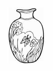 Раскраски ваз