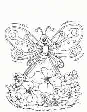 Добрая бабочка