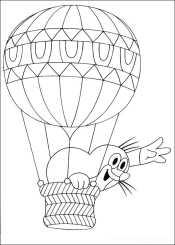 Крот на воздушном шаре
