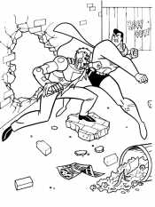 Супермен и злодей