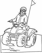 Рисунок квадроцикл