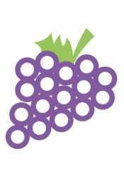 Виноград для пальчиков