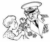 Цветы для деда