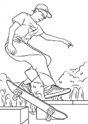 Рисунок Скейтборд