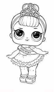 Кукла Лол мисс Baby