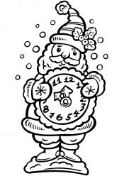 Картинка Новогодние часы