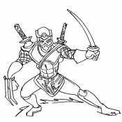 Шредер с мечами