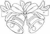 Рисунок Новогодние колокольчики