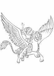 Рисунок Елена из Авалора