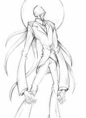 Рисунок Слендермен