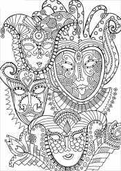 Раскраски сложные и красивые узоры