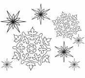 Картинка Зимние узоры