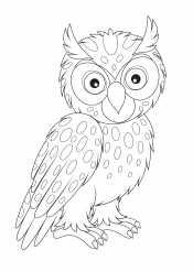 Пятнистая сова