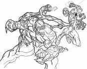 Битва Венома с Человеком -пауком