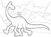 Картинка Хороший динозавр