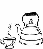 Рисунок Чайник