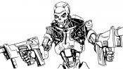Терминатор с оружием