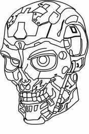 Голова терминатора