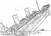 Рисунок Титаник