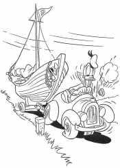 Дональд и кораблик