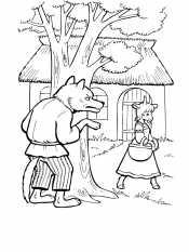 Волк из сказки
