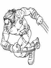 Росомаха в бою
