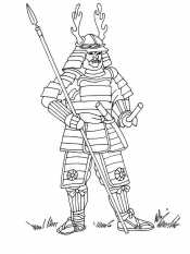 Смелый самурай